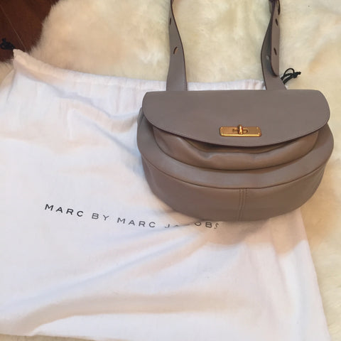 Marc Jacobs Grey Satchel
