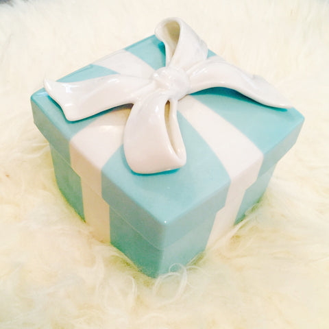Tiffany Porcelain Gift Box