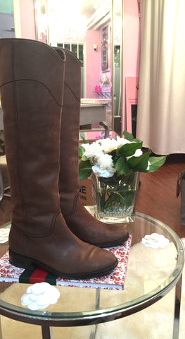Chanel Ascot Boots