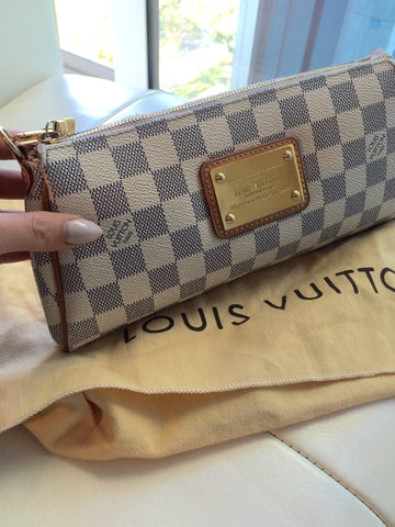 Lous Vuitton Eva Azur Clutch