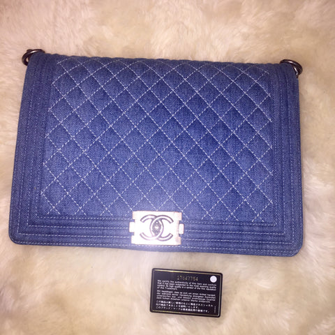 Chanel Maxi Boy Bag