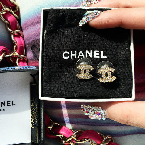 Chanel Cristal Earrings
