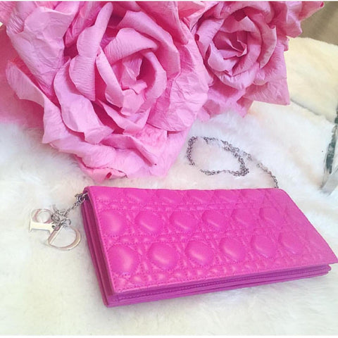 Dior Cannage Evening Clutch