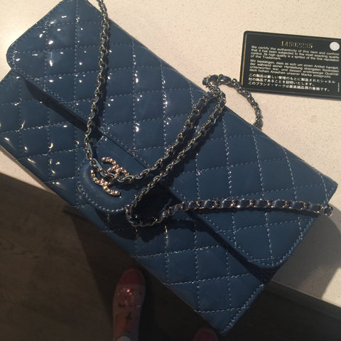 Chanel East West Woc Flap Bag