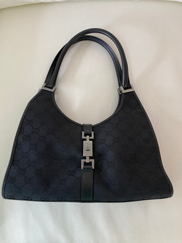 Gucci horsebit top handle bag