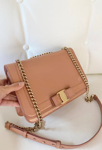 Salvatore Ferragamo flap bag