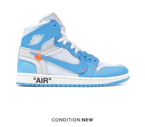 Jordan 1 Off White University Blue