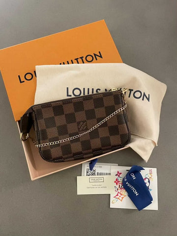 Louis Vuitton mini pouchette bag