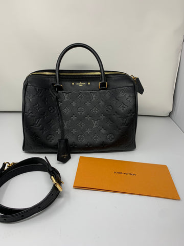 Louis Vuitton speedy bandolerie