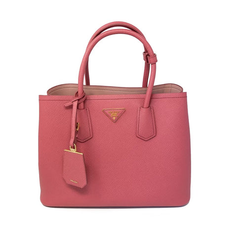 Prada Double Saffiano Cuir Small Tote bag