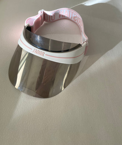Christian Dior club visor