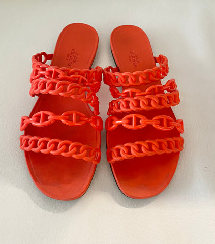 Hermes ravage sandals
