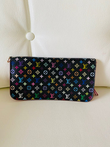 Louis Vuitton multi colour wallet