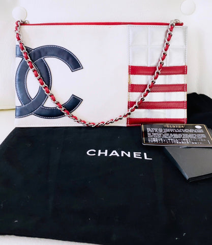 Chanel chocolate bar bag