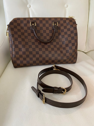 Louis Vuitton speedy bandolerie 35