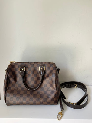 Louis Vuitton speedy bandolerie bag