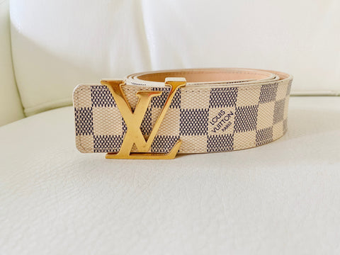 Louis Vuiton initial belt