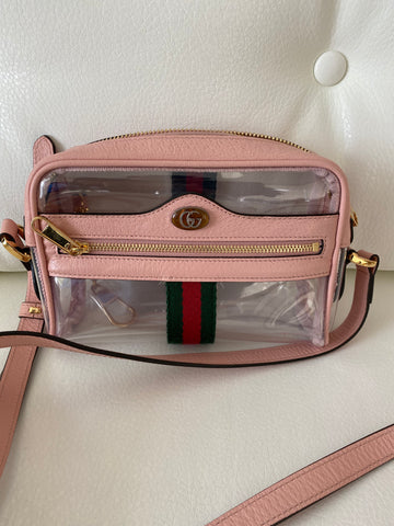 Gucci PVC ophidia bag