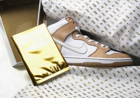 "Nike Sb Dunk high premium ""some win some lose some"" sneaker"