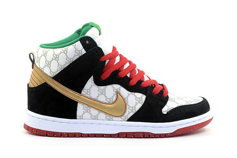 "Nike Sb Dunk high premium ""paid in full"" sneaker"