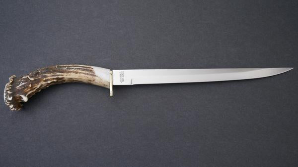Silver Stag Alaskan Fillet Knife Fishing Camping Outdoors On Guard Texas