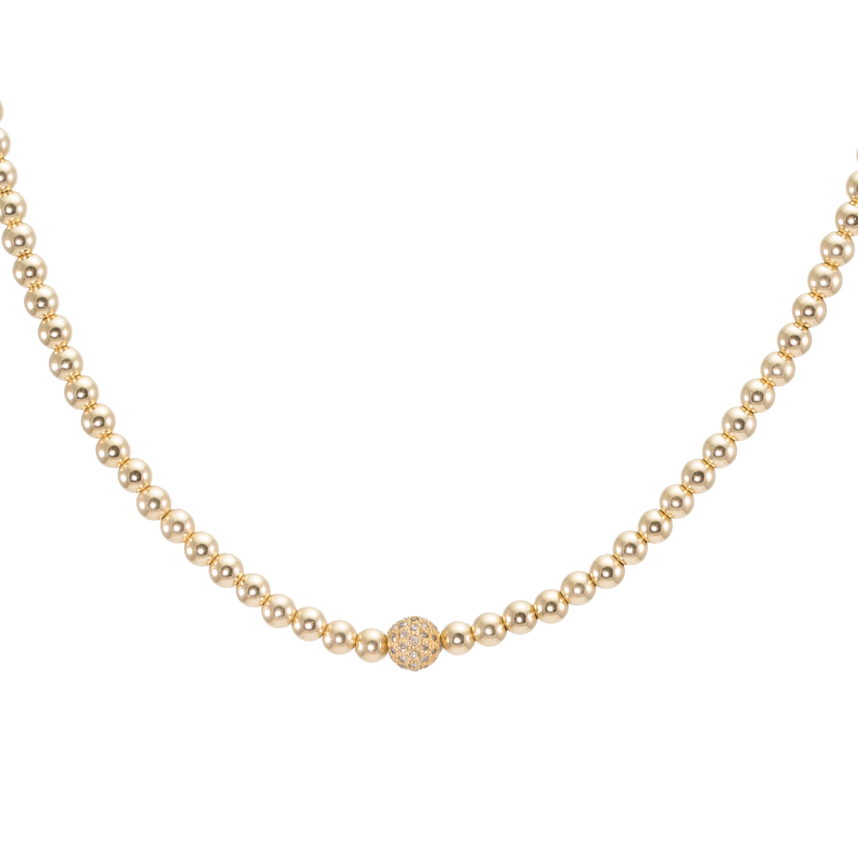 amazon rope chain gold cut necklace bling diamond plated uk dp solid co luxury jewellery