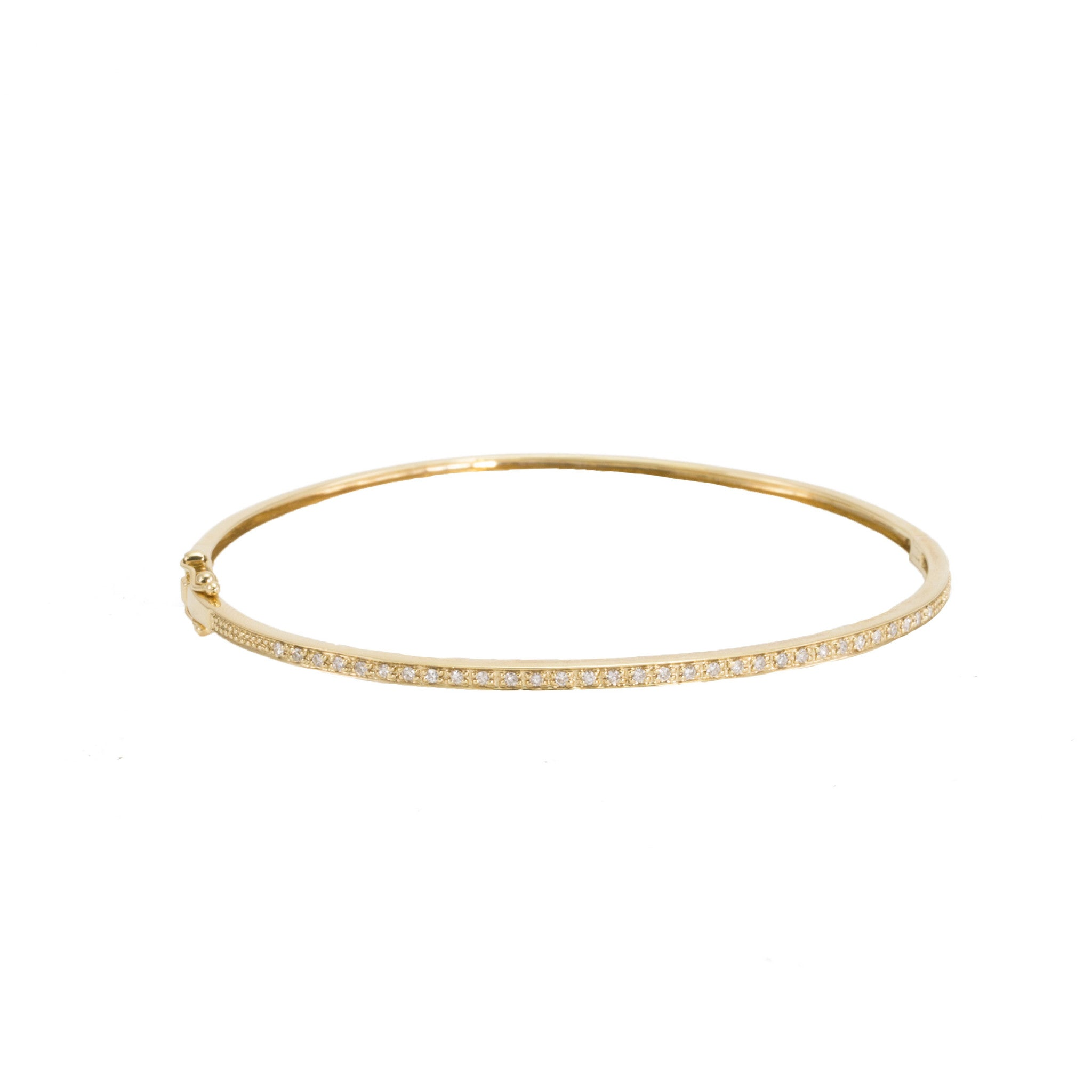 bangle pave bangles vhernier diamond gold ring pirouette white