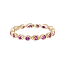 Load image into Gallery viewer, Fancy Pink Sapphire Ring