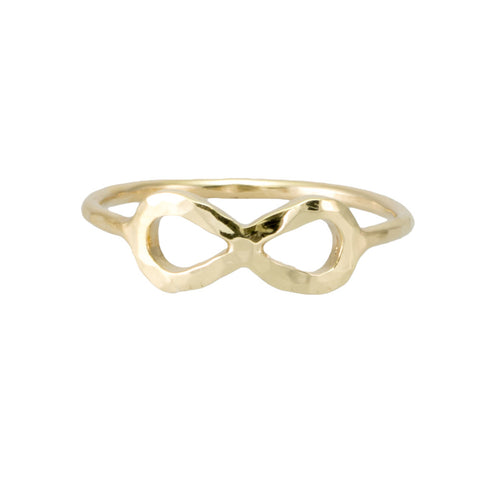 Bold Infinity Ring