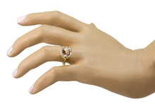 Load image into Gallery viewer, Round Morganite Ring