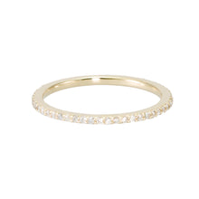 Load image into Gallery viewer, Diamond Eternity Band - narrow version