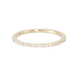 Diamond Eternity Band - narrow version