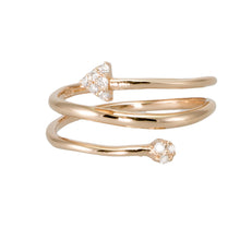 Load image into Gallery viewer, Arrow Wrap Diamond Ring