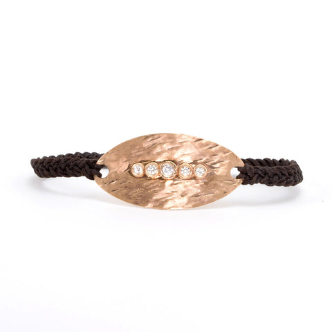 Diamond Bracelet with 5 diamonds