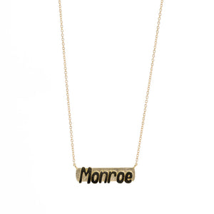 Name Bar Necklace