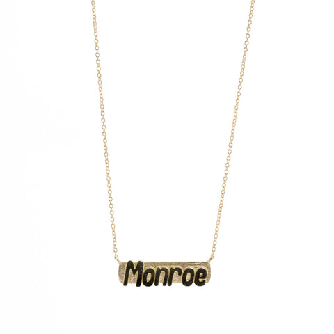 Name Bar Necklace - Custom
