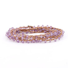 Load image into Gallery viewer, Amethyst Chain Wrap Around