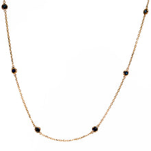 Load image into Gallery viewer, Blue Sapphire by the Inch Necklace