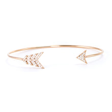 Load image into Gallery viewer, Arrow Diamond Cuff