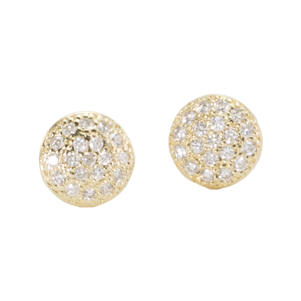 gold stud womens image diamond small from white round earrings