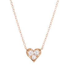 Load image into Gallery viewer, Baby Heart Diamond Necklace