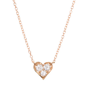 Baby Heart Diamond Necklace