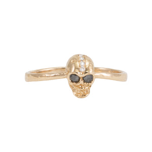 Skull Diamond Ring