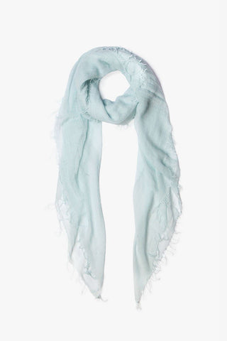 Ice Flow Cashmere & Silk Scarf