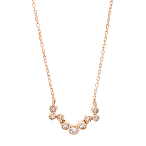 Bubble Diamond Necklace