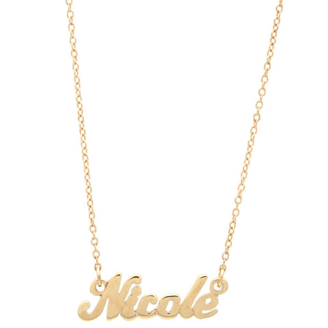 Name Plate Necklace - Custom