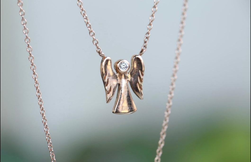 Angel Diamond Necklace