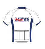 Premium Short Sleeved Custom Cycle Jersey - Veterans With Dogs (VWD) Shop