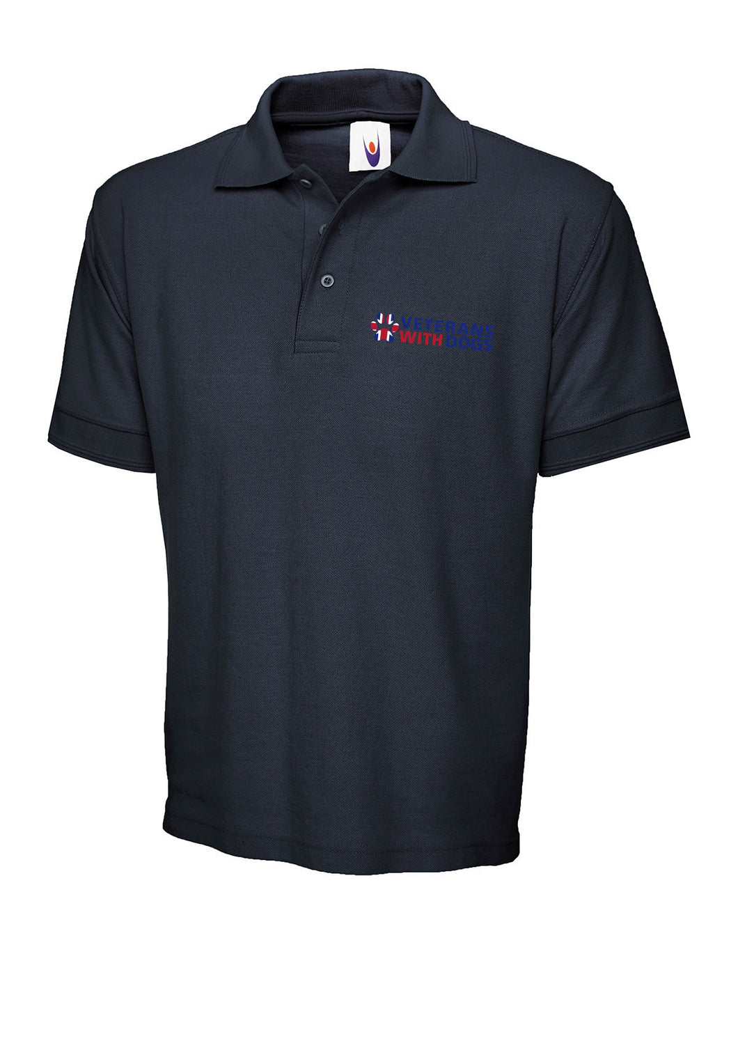 Premium Polo Shirt - Veterans With Dogs (VWD) Shop