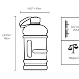 Large Water Bottle - Veterans With Dogs (VWD) Shop